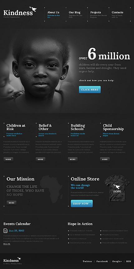 Black WordPress Themes