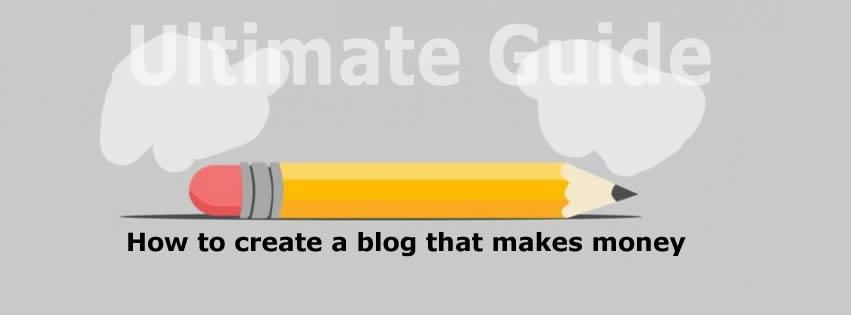 create a blog that makes money