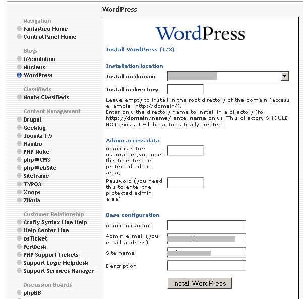 how to install wordpress guides