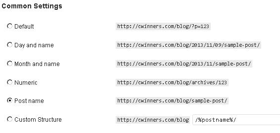 wordpress security permal