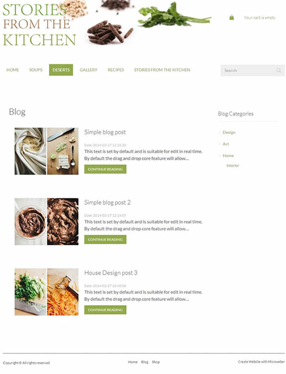 microweber blog