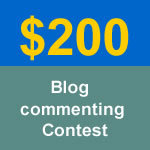 blog commenting contest sept feat