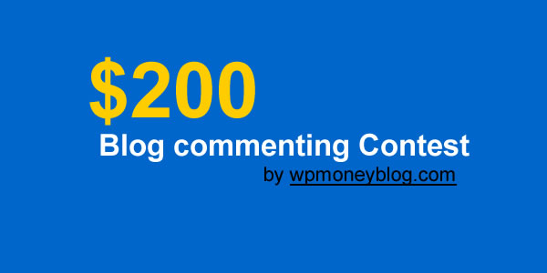 blog commenting contest