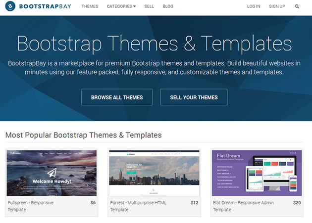 Writer Bootstrap Themes