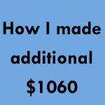 additional money l