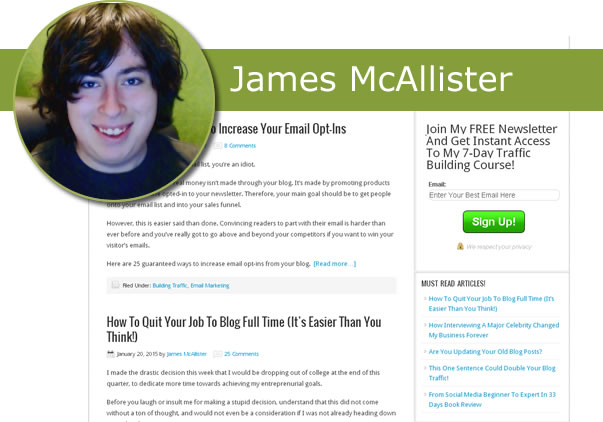 James McAllister