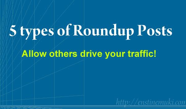roundup posts traffic