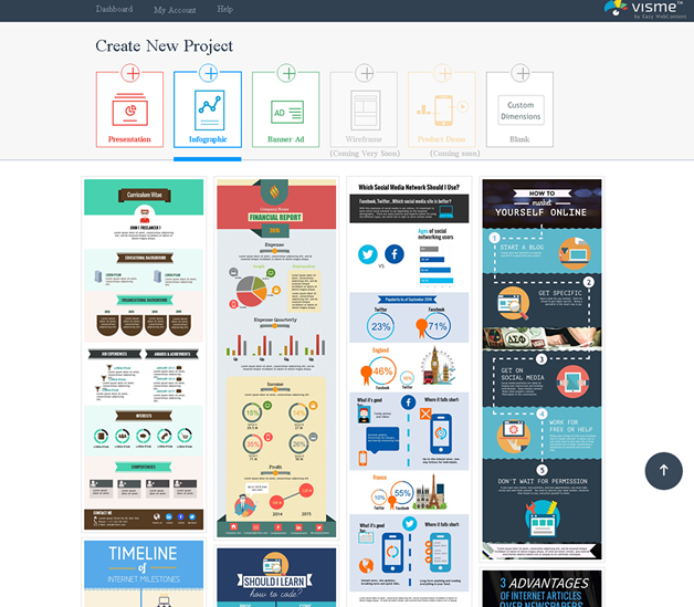 Make Free Infographics Reports amp Charts Online  Visme