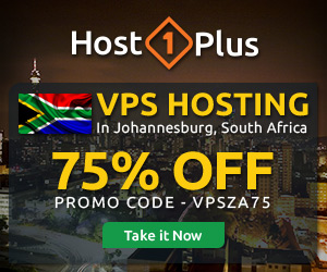 Cheap South Africa VPS by Host1Plus