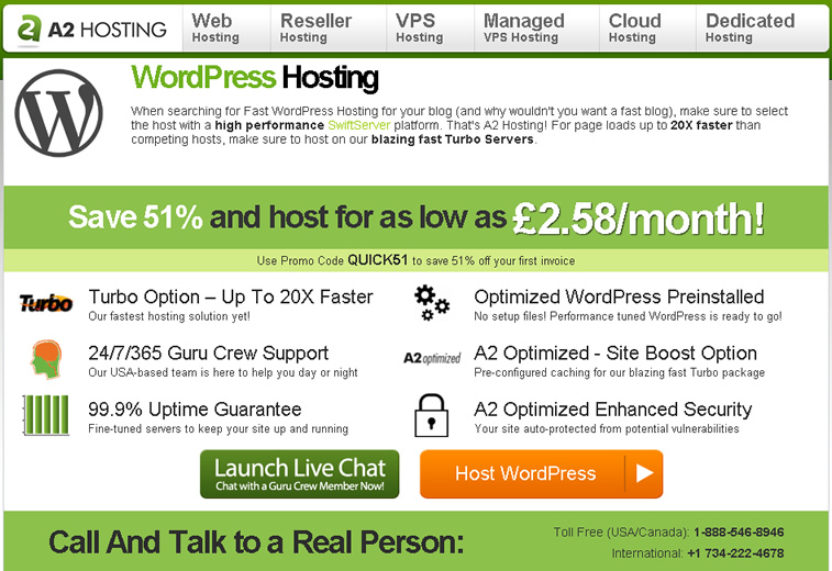 dedicated wordpress hosting