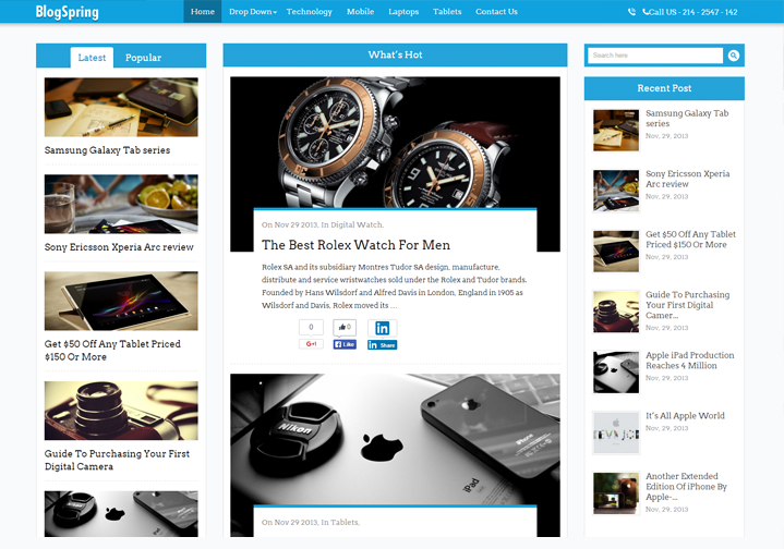 WordPress Theme For News