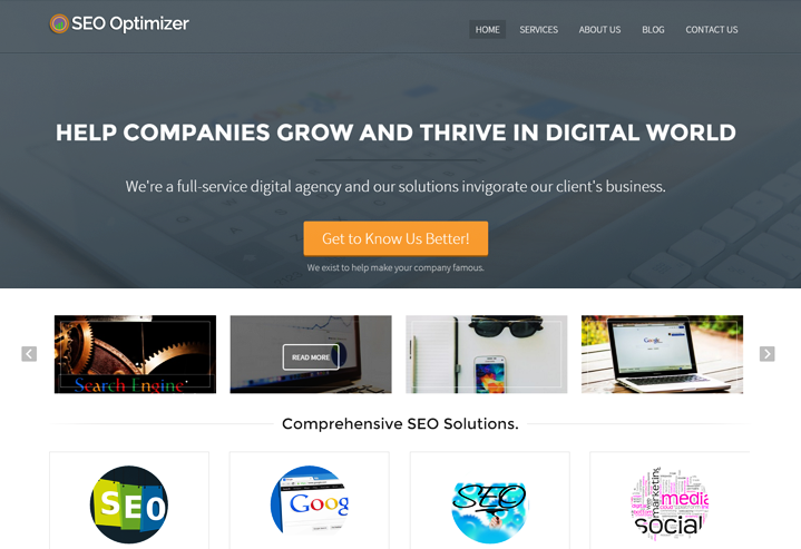 WordPress Theme SEO Agencies