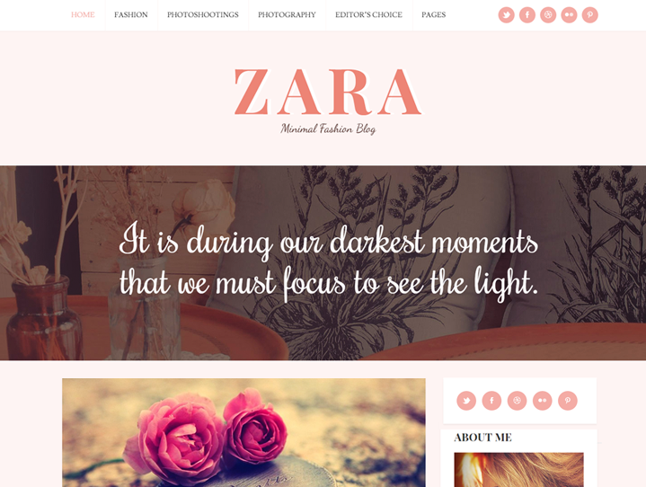 WordPress Theme For Blogger