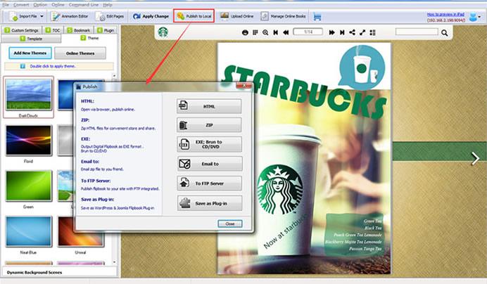 FlipHTML5 Digital Publishing Software download