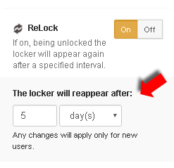 social locker relock