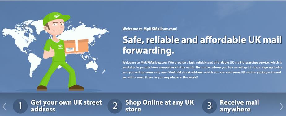 MyUkMailBox: How To Get A UK street Address