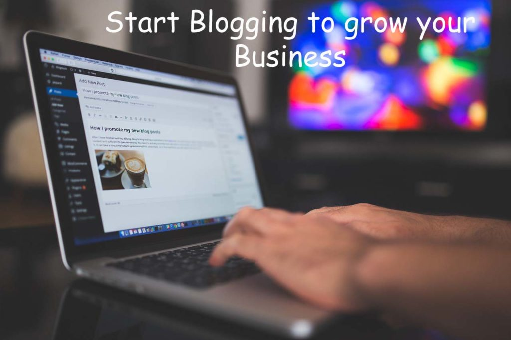 blogging to grow your business