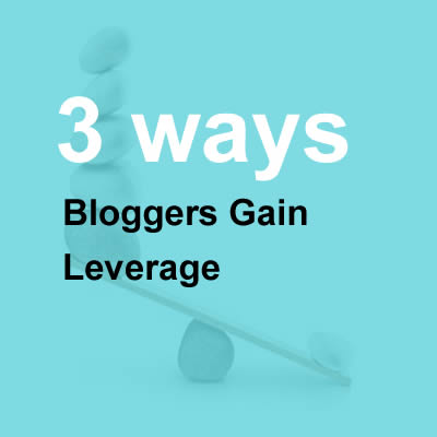 Bloggers Gain Leverage