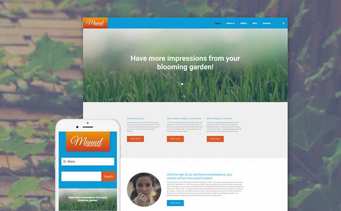 Exterior Design Studio WordPress Theme
