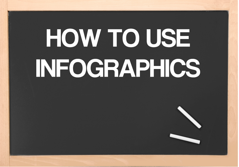 how to use infographics