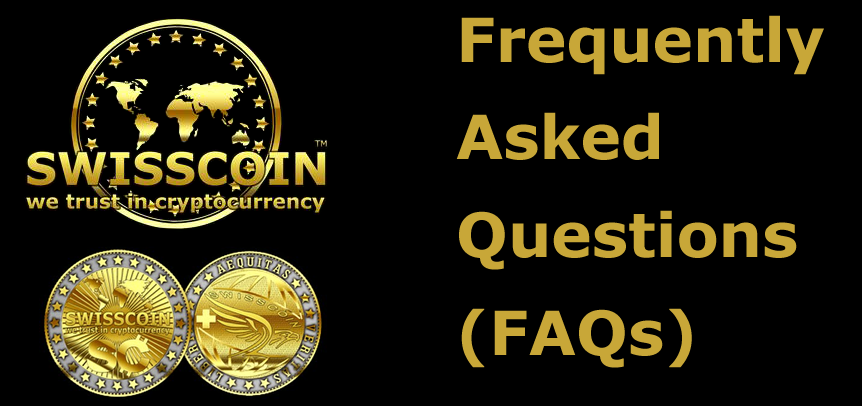 swisscoin frequently asked questions