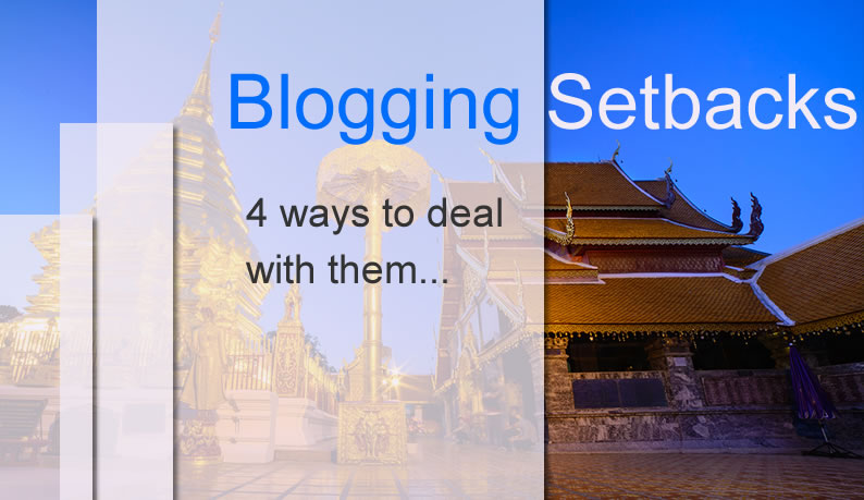 Blogging Setbacks