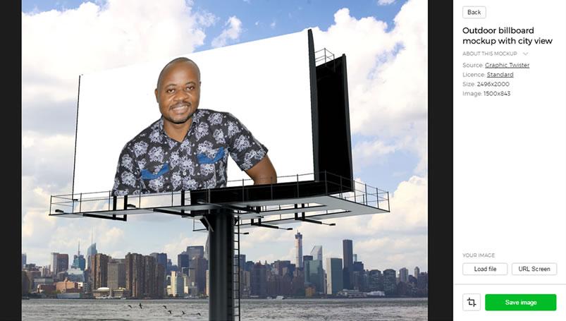 advertising mockup theme finale