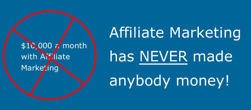 affiliate marketing fail