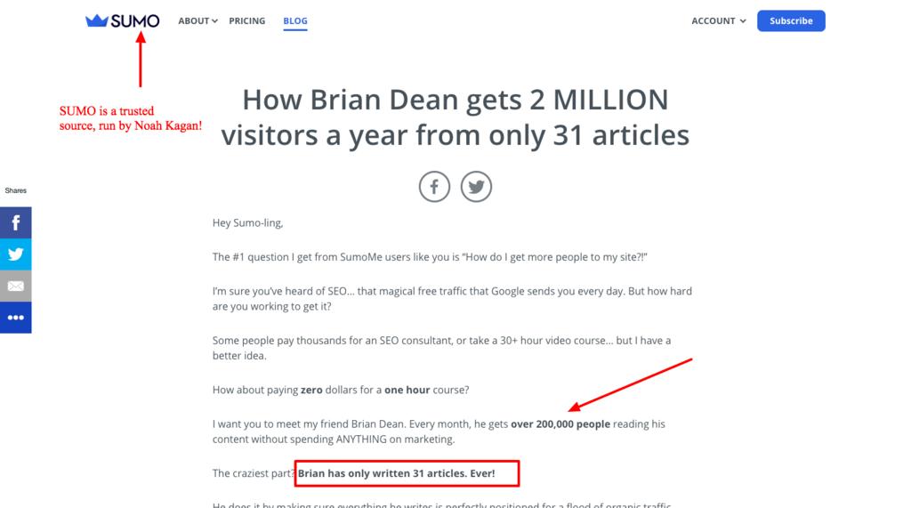 brian dean traffic