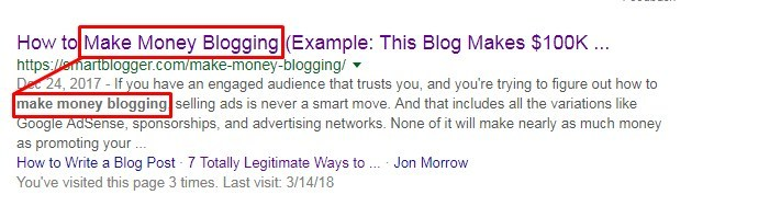 meta description seo