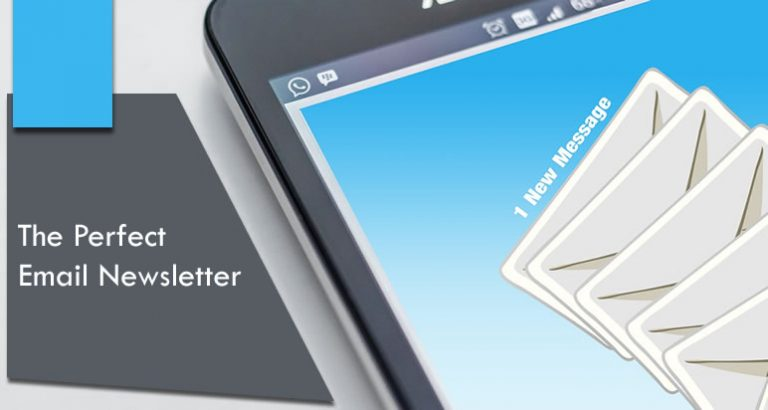 the perfect email newsletter