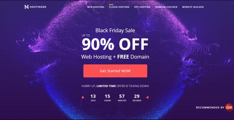 hostinger black friday discount