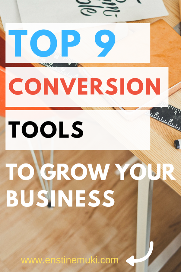 Top conversion tools for your online business to help convert visitors to customers