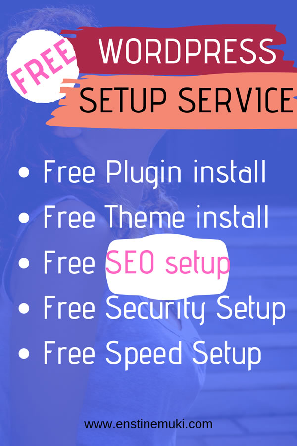 free WordPress Setup Services