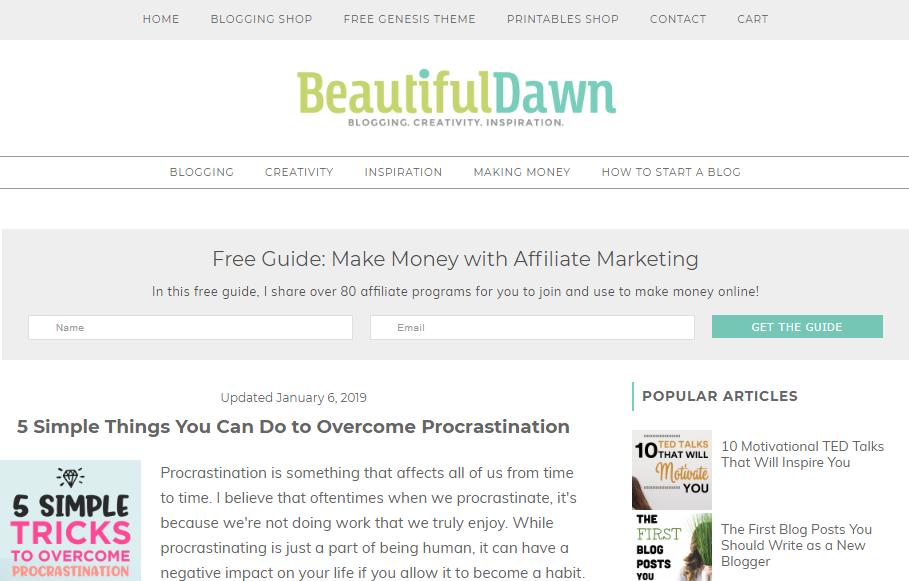 blogging for women