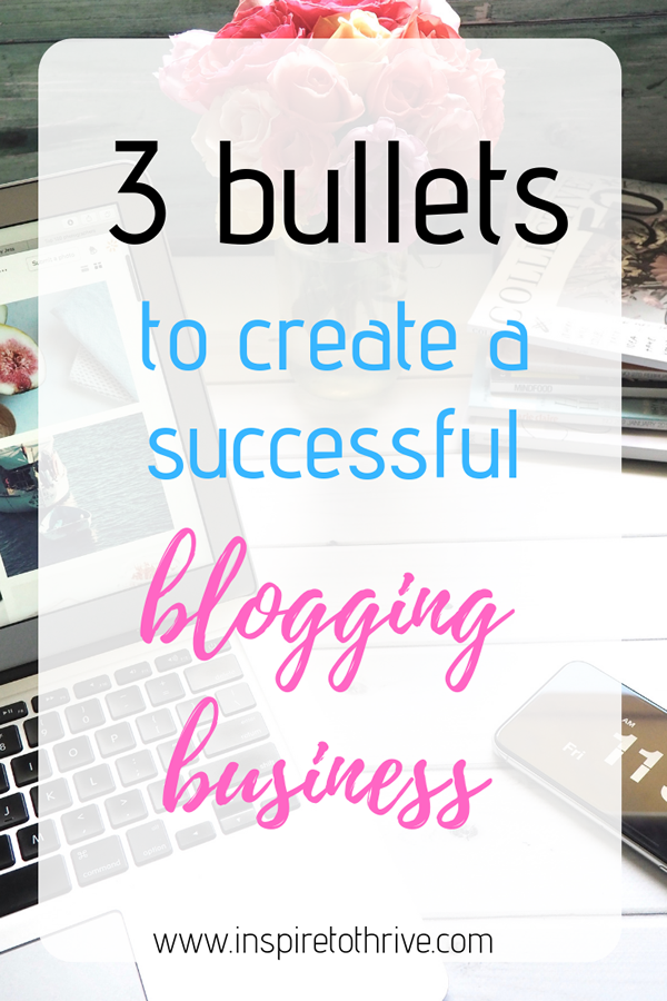 create a successful blogging business