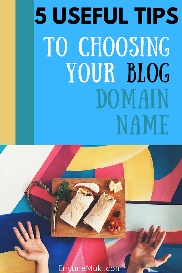Are you confused about choosing a good domain name for your blog? These 5 tips will help you come up with great domain name