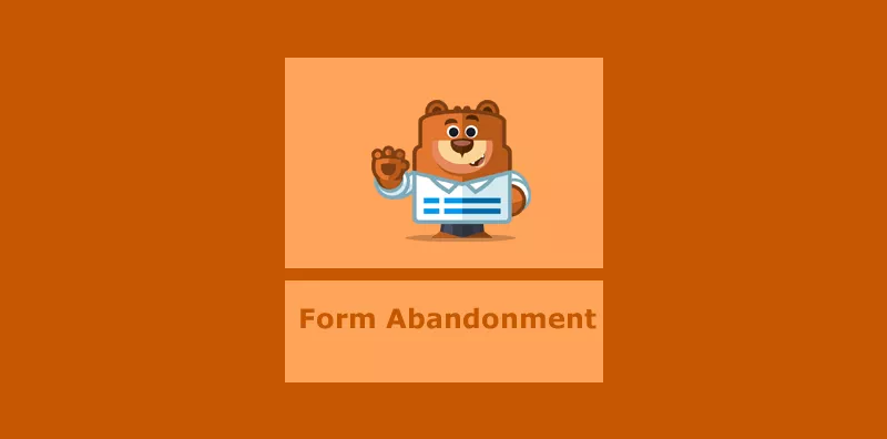 capture partial data from abandoned forms