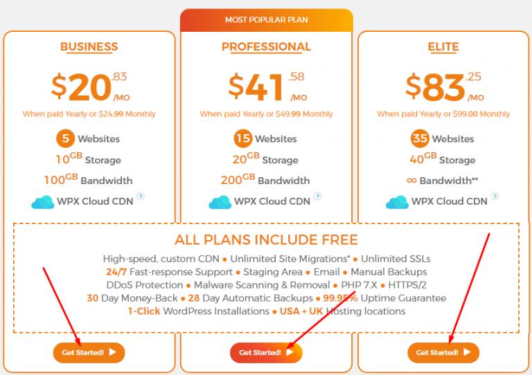 wpx hosting 99 percent discount