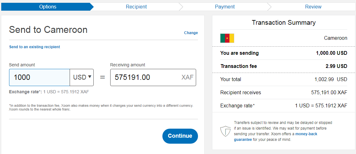 Send PayPal Money To Cameroon