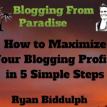 maximise blogging profit