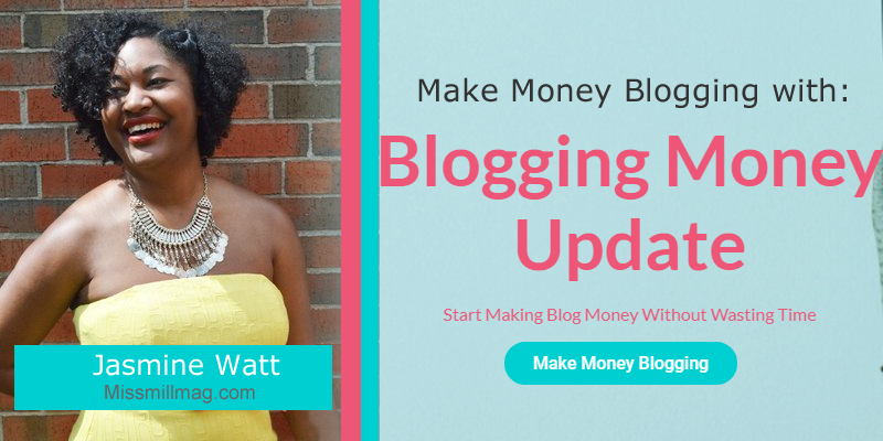 blogging money update