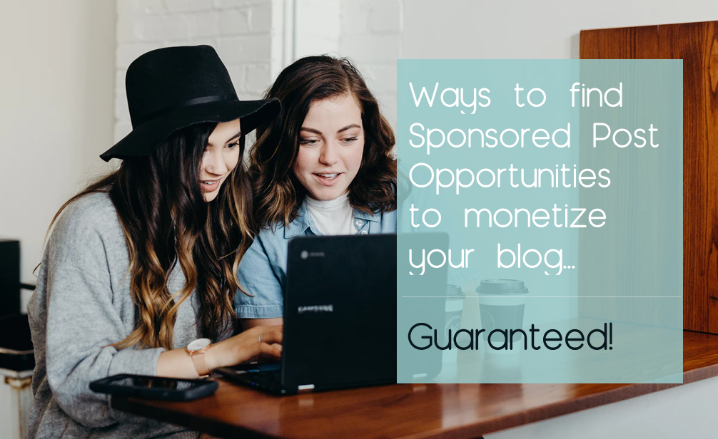 find sponsored posts