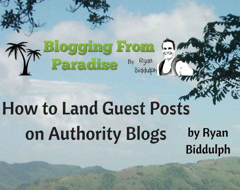 guest posts on authority blogs