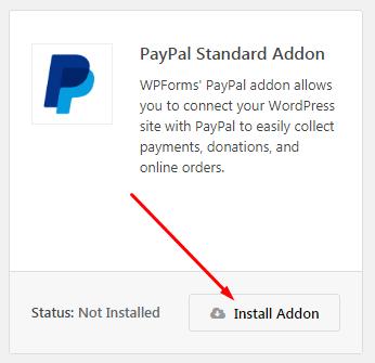PayPal Standard Addon