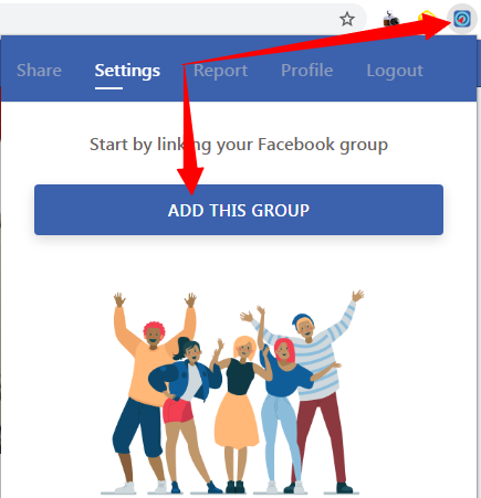 add group to lead