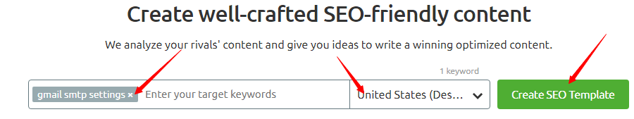 The SEO Content Template