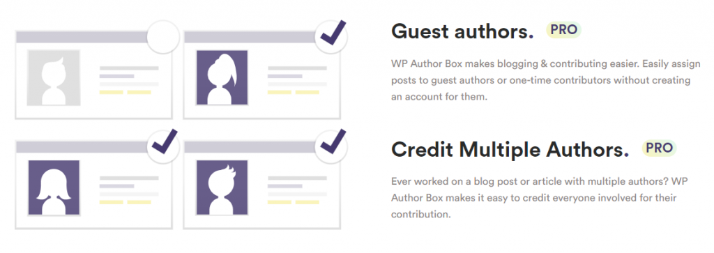 Simple Author Box guest author feature