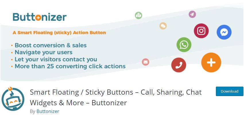 Smart Floating / Sticky Buttons
