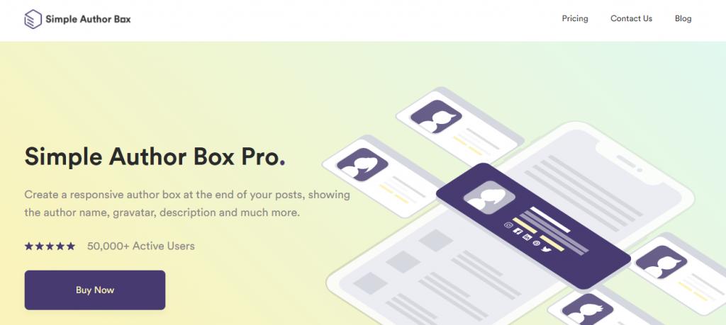 Simple Author Box Pro